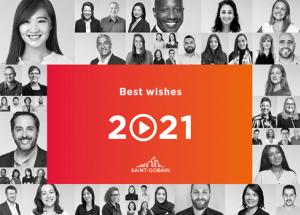 Best wishes 2021 from Saint-Gobain Group