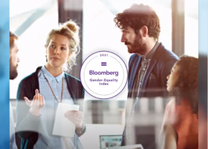For the third consecutive year, Saint-Gobain has been included in the Bloomberg Gender Equality Index